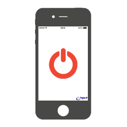 iPhone 4/4S Aan/uitknop